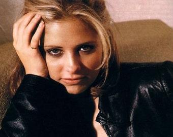 Buffy The Vampire Slayer (magic shop) life cast face mask Sarah Michelle Gellar prop 1:1 life size