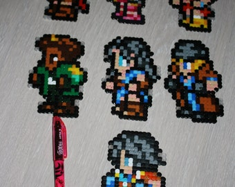 Final Fantasy 13 XIII Pixel Art