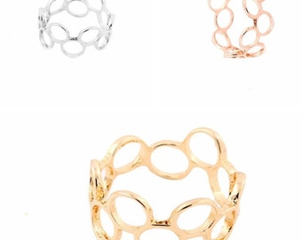 Bubble Round Ring