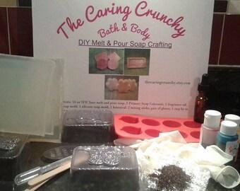 DIY Soap Kit, DIY Soap Crafting, DIY Kit, Craft Kit, Crafting, Soap Crafting, Crafts for kids, Soap, Make your own soap, Glycerin Soap
