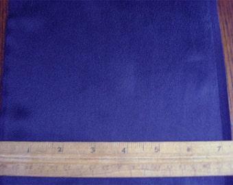 100% Silk Habotai - Royal Blue