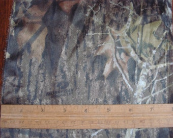 100% Silk Charmeuse Prints - Camouflage - Mossy Oak