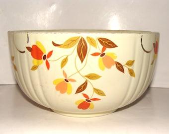 Vintage Hall's Autumn Leaf Bowl - 2 quart - circa 1930s
