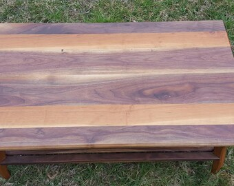 Walnut and Cherry Coffee Table