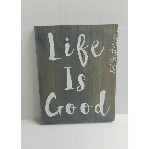 Wood sign wooden sign wood sign sayings gift idea home decor for Home decor quotes signs