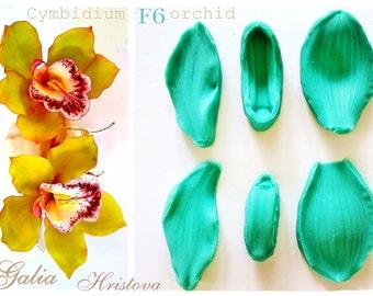 Cymbidium Orchid...Silicone Set Veyner