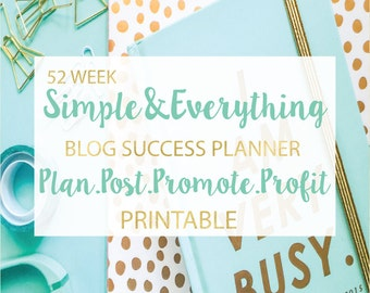 Blog Success Planner-Simple & Everything