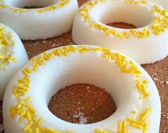Lemon Verbena Donut Bath Bombs!