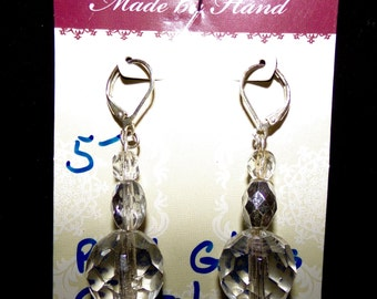Handcrafted Chandelier crystal earrings