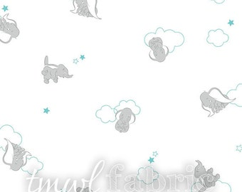 Woven Fabric - Disney Bambino Dumbo - Fat Quarter Yard +