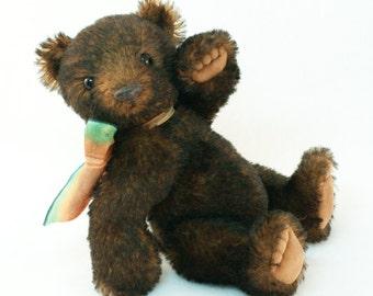 Andy - OOAK artist teddy bear, mohair, 19 cm (7.5 in)