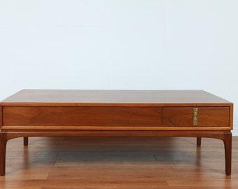 Walnut Coffee Table Richard Thompson Style