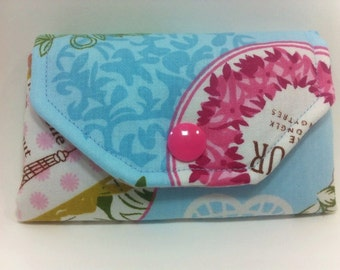 Fabric wallets, credit card wallet, business card holder, id wallet, gift card holder, mini wallet,