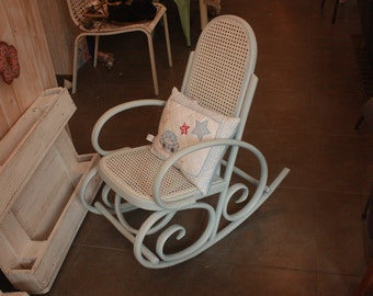 Restored child rocking chair