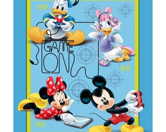 Mickey Mouse and Friends Panel