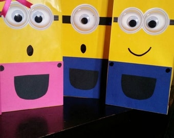 Minion candy bags