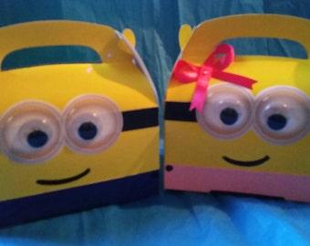 Minion treat box, boy or girl