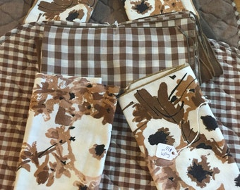Shabby Chic set Placemats & Napkins