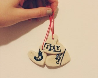 Personalised Christmas Tree Decorations / Gift Tags