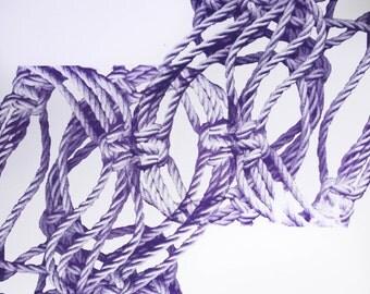Purple/Yellow Ropes