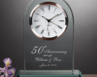 Everlasting Love Anniversary Clock