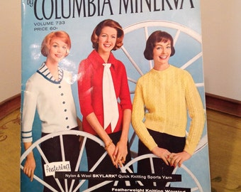 Vintage Columbia Minerva Knitting Book