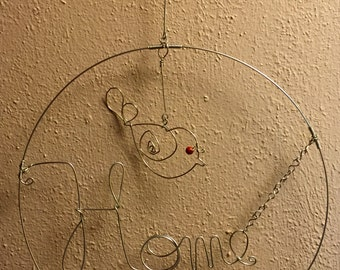 Wire mobil - Wall Art - Home decor