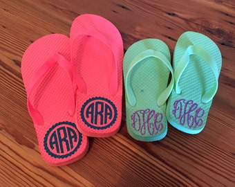 LADIES' Personalized Flip Flops - FREE SHIPPING!