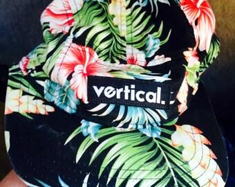 Vintage Vertical. brand floral hat