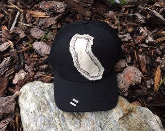 Rhinestone Hat, California Patch Hat, Rhinestone Hats, Swarovski Hats, Trucker Hats, Decorative Hats, Trucker Hats, Embellishment Caps
