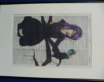 Tokyo Ghoul Wall Art Print No. 2, tokyo ghoul poster, tokyo ghoul decal, tokyo ghoul mask, girlfriend gift, boyfriend gift, tokyo ghoul 2