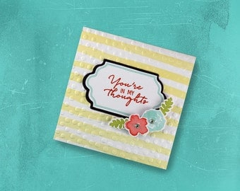 Your In My Thoughts Greeting Card