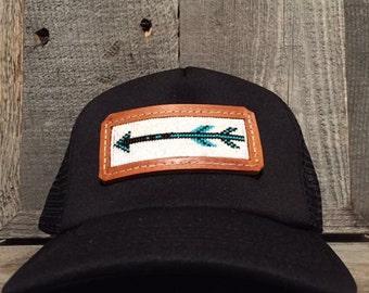Beaded Trucker Hat