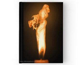 Hard Cover Journal 'Fire' Original Art