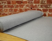Grey Bamboo Knit Fabric, beautiful soft & stretchy! Sold by the 1/2 meter