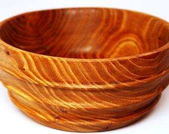 Beautiful Cypress Wood Bowl