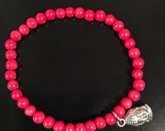 Ref buddha bead bracelet