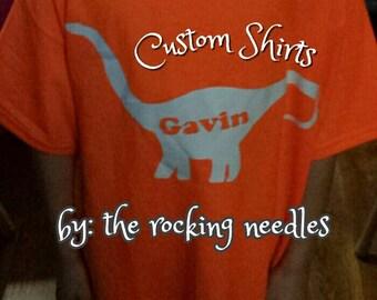 Customized Dino Shirt