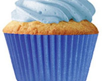 Royal Blue Standard Cupcake Liners (30 pcs)