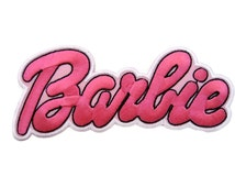 Barbie Embroidered Applique Iron on Patch
