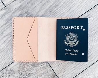 Leather Passport Wallet, Passport Case, Passport Cover, Passport Wallet, Travel Wallet, Leather Passport Holder