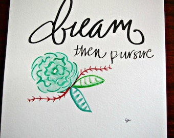 Artisan Print - Dream