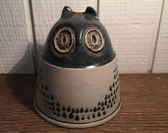 Bennington Pottery Cooperative Owl Coin Bank by David Gill