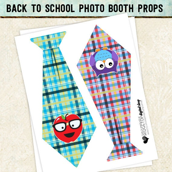 Photo Booth Props BACK TO SCHOOL 1st day of school back to