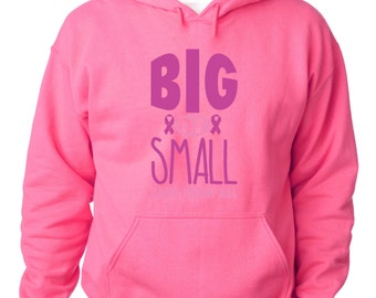 Big Or Small Save Them All Hoodie Breast Cancer Awareness Sweatshirt