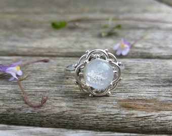 Ashes Glass Fancy Ring x
