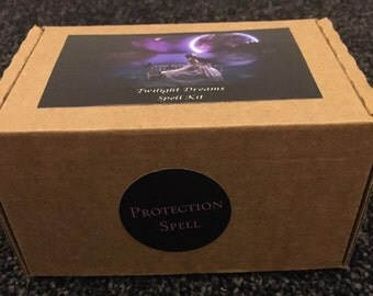CLEARANCE - Cast Your Own Magic Spell Kit - Protection Spell