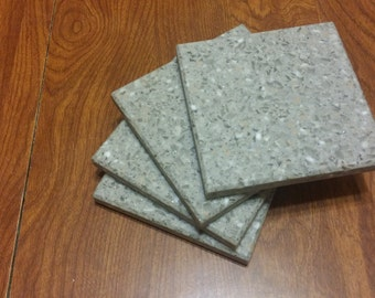 corian / solid surface coasters