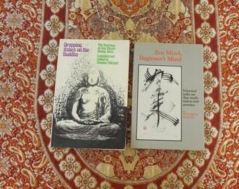 2 Zen Buddhist Books - Paperback - Seung Sahn - Shunryu Suzuki