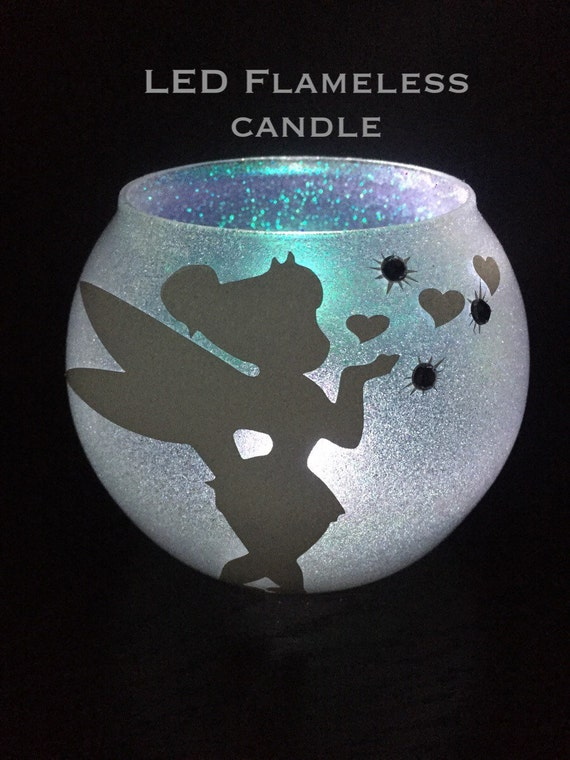 Tinkerbell Candle Holder